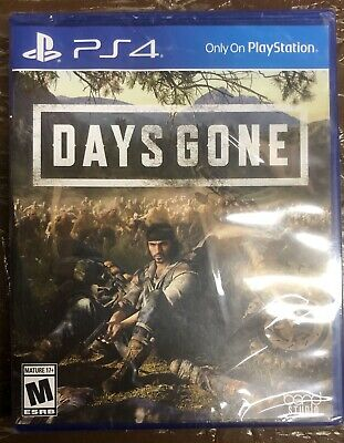 Days Gone (Playstation 4, 2019) PS4 Brand New Sealed Free Shipping Region Free