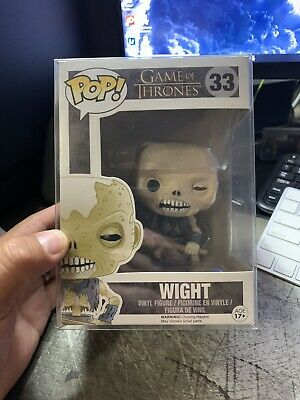 Funko Pop! Game of Thrones Wight #33 With Pop Protector
