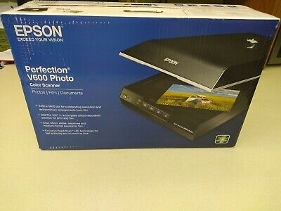 EPSON PERFECTION V600 Photo Scanner only - NO FILM HOLDERS