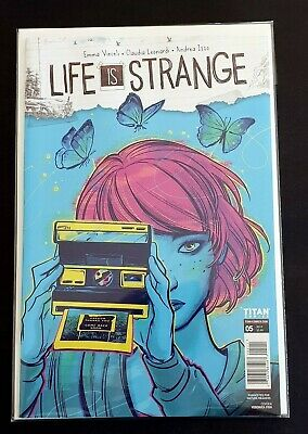 Life is Strange #5 NM Sold out Bag Board Combine