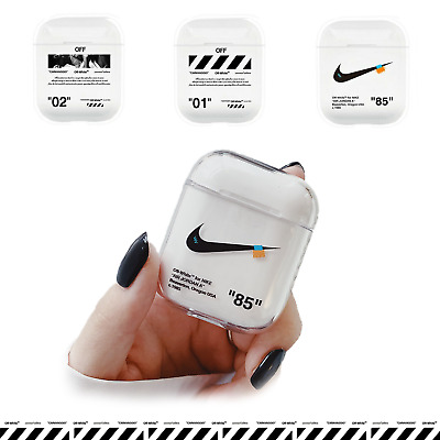 detailed look edfc3 eeae3 OFF-WHITE AIRPODS CASE Hype Luxury x Nike Clear Adidas Off White Airpod OW  NEW