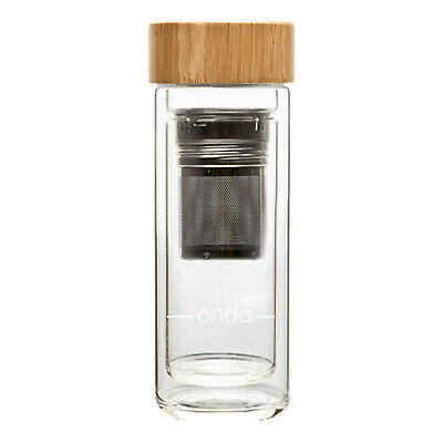 NEW Onda 350ml Ripple Flask - brew tea or sip coffee in style & on the go
