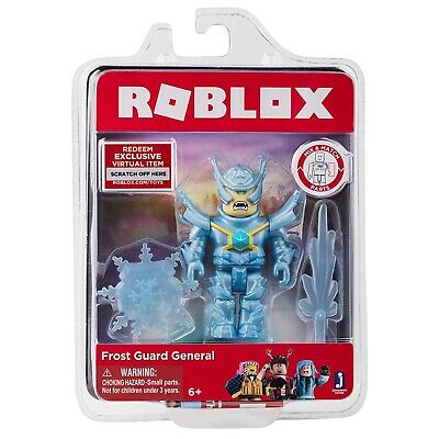 Roblox FROST GUARD GENERAL Series 3 Core Figures Kids Toys Packs+Exclusive Codes