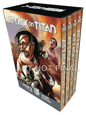 Attack On Titan Season Two Box Set Vol 01 Brand New Manga Graphic Novel Set