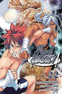 Food Wars Shokugeki No Soma Gn Vol 22 *Marked* Bagged Manga