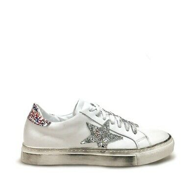 SNEAKERS DONNA SCARPE Polacchine Casual Comode In Pelle Made