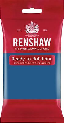 Atlantic Blue Renshaw Ready To Roll Icing 250g Packets