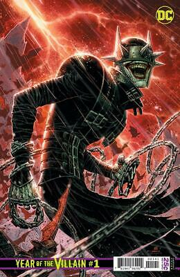 Dcs Year Of The Villain #1 Batman Who Laughs Variant Bagged And Boarded Comic