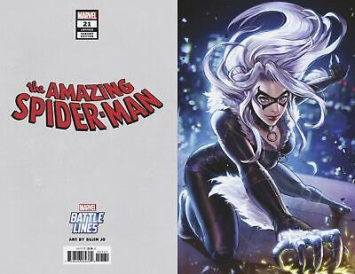 Amazing Spider-Man #21 Sujin Jo Battle Lines Variant Bagged And Boarded Comic