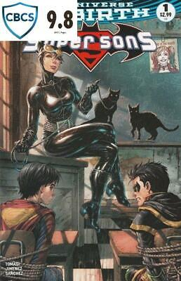 Super Sons #1 Unknown Comic Catwoman Exclusive Signed Graded 9.8 Fast Post