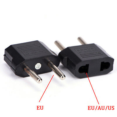 US/AU/EU To EU Plug Travel Wall AC Power Charger Adapter Cable Converter Gut ZV
