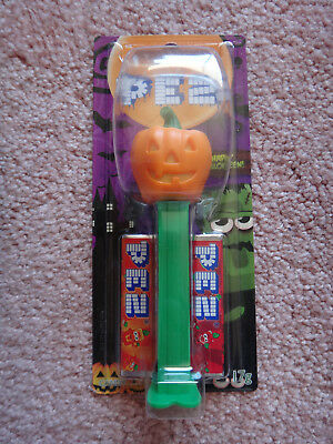 Halloween Pumpkin Pez Dispenser Collectors Item Candy Lollies