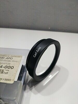 CARL ZEISS MICROSCOPE LENS f=200 APO boxed