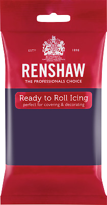 Deep Purple Renshaw Ready To Roll Icing 250g Packets