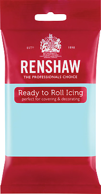 Duck Egg Blue Renshaw Ready To Roll Icing 250g Packets