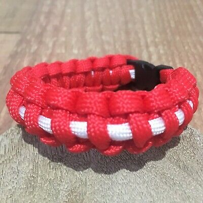 Handmade Leyton Orient Paracord Bracelet Football Custom Any Size League 2