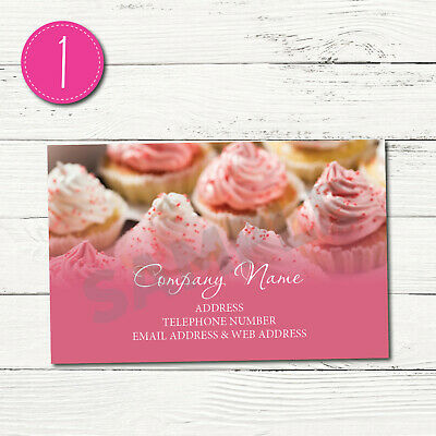 100 Personalised Business Cards - Customise & Create Your Own - Design 1