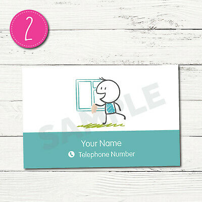 100 Personalised Business Cards - Customise & Create Your Own - Design 2