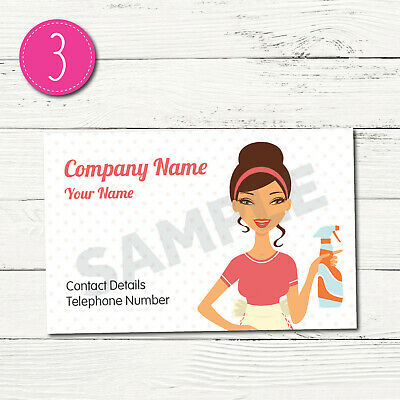 100 Personalised Business Cards - Customise & Create Your Own - Design 3