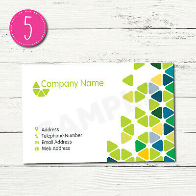 100 Personalised Business Cards - Customise & Create Your Own - Design 5