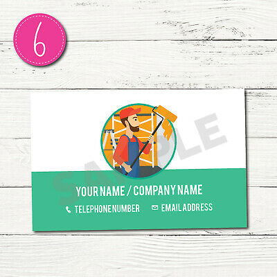 100 Personalised Business Cards - Customise & Create Your Own - Design 6