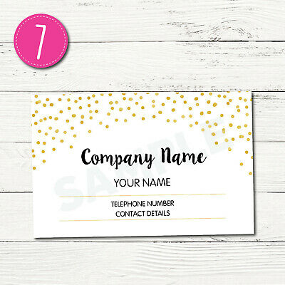 100 Personalised Business Cards - Customise & Create Your Own - Design 7