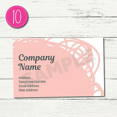 100 Personalised Business Cards - Customise & Create Your Own - Design 10