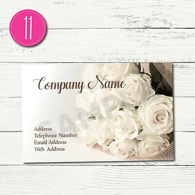 100 Personalised Business Cards - Customise & Create Your Own - Design 11