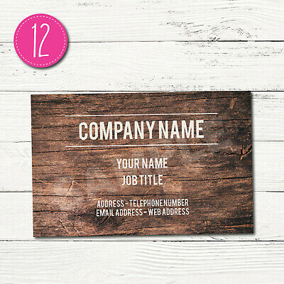 100 Personalised Business Cards - Customise & Create Your Own - Design 12