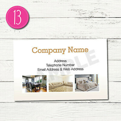 100 Personalised Business Cards - Customise & Create Your Own - Design 13