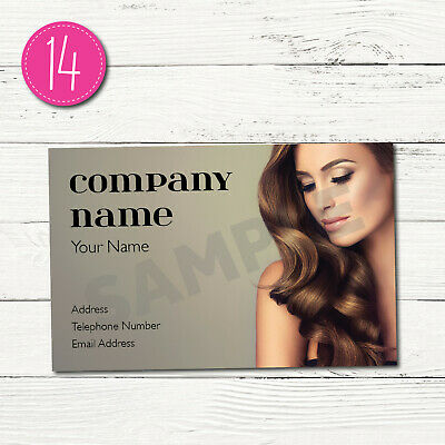 100 Personalised Business Cards - Customise & Create Your Own - Design 14