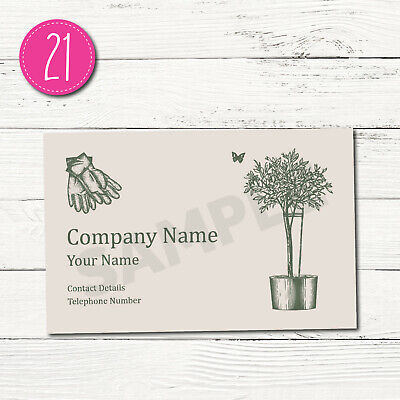100 Personalised Business Cards - Customise & Create Your Own - Design 21
