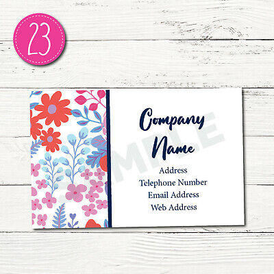 100 Personalised Business Cards - Customise & Create Your Own - Design 23