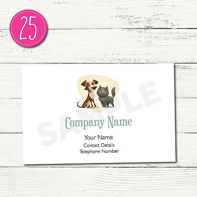 100 Personalised Business Cards - Customise & Create Your Own - Design 25