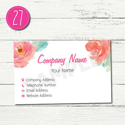 100 Personalised Business Cards - Customise & Create Your Own - Design 27