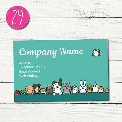 100 Personalised Business Cards - Customise & Create Your Own - Design 29