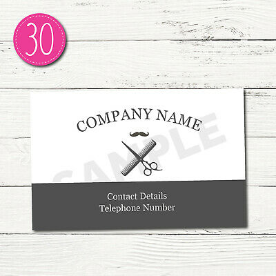 100 Personalised Business Cards - Customise & Create Your Own - Design 30