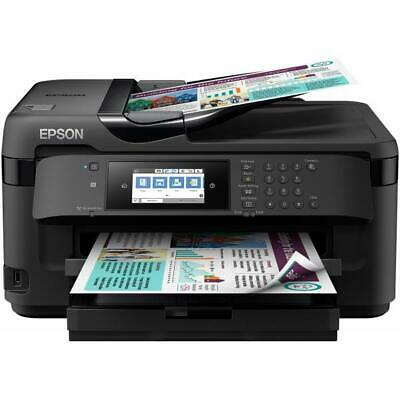 MULTIFUNZIONE EPSON WorkForce WF-7710DWF A3+18/10PPM 250FF Scanner 1200x2400 Car