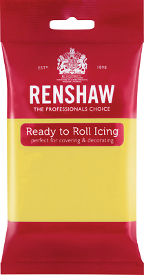 Pastel Yellow Renshaw Ready To Roll Icing