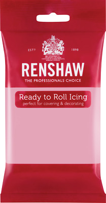 Pink Renshaw Ready To Roll Icing 250g Packets