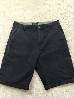 Exc Boys Next Navy Blue Chino Shorts Age 10