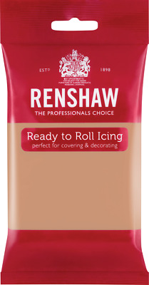 Skin Tone Renshaw Ready To Roll Icing 250g Packets