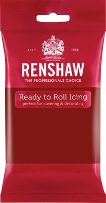 Ruby Red Renshaw Ready To Roll Icing 250g Packets