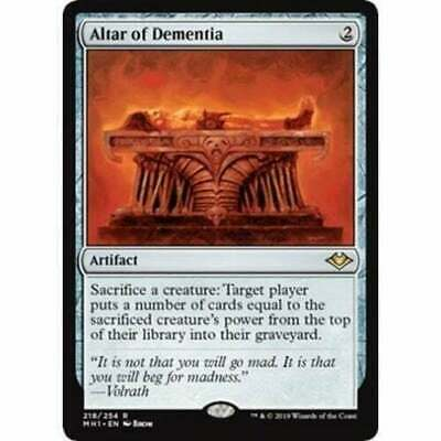Altar of Dementia Modern Horizons Magic The Gathering MTG Rare NM/M