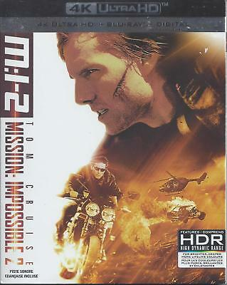 Mission Impossible 2 (4K Ultra Hd/Bluray)(2 Disc Set)(Used)