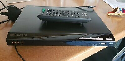 Sony DVP-SR760H Compact Modern DVD/CD Player with USB, HDMI, Remote Control