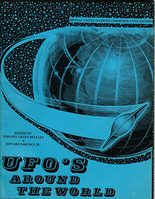 Rare Second Printing UFO's Around The World by Timothy Green Beckley 1978