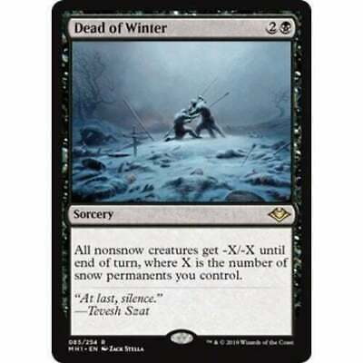 Dead of Winter Modern Horizons Magic The Gathering MTG Rare NM/M