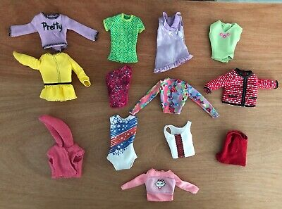 Barbie Doll Clothes Lot Shirts A