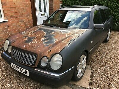 Mercedes E430 V8 estate 'Rat Rod!?' - spares or repair